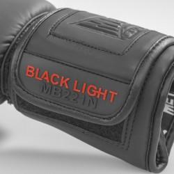 "Gants ""Blacklight"" Noir Mat"