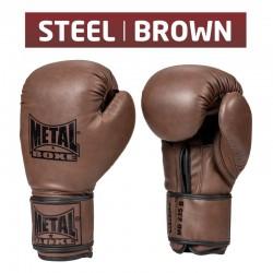 """Gants """"Steel Brown"""" Marron"""