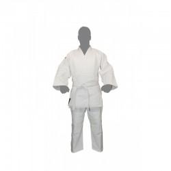 """Kimono """"Warrior"""" Blanc"""